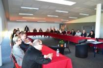 """Une vingtaine de participants étaient présents à la rencontre """"Enim, acteur économique pour les entreprises"""""""