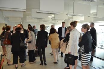 Les participants ont visité les locaux de l'école