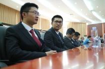 Les élèves ingénieurs ont assisté à la cérémonie d'inauguration de leur école