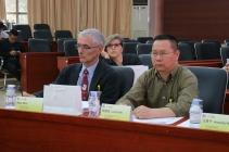 René Zille, directeur adjoint français de l'ENIN lors de la réunion du comité de pilotage industriel