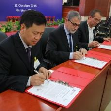 Signature d'une convention entre NUST, l'ENIM et ses partenaires industriels