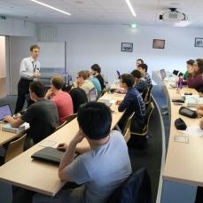 Premier cours à l'ENIM pour le professeur Dragan Djurdjanovic
