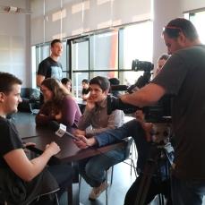 La venue des étudiants américains, sujet du Journal de France 3 Metz