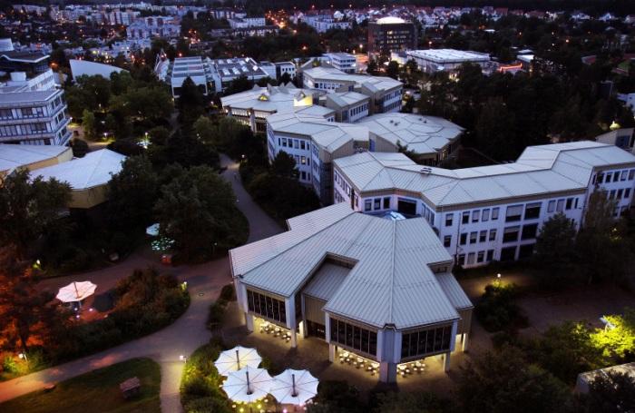 Campus Kaiserslauten la nuit