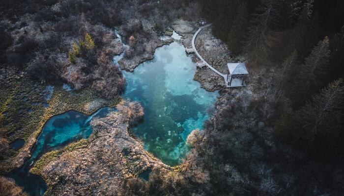 Elèves ENIM en Slovénie