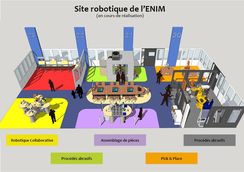 site robotique ant technologie ENIM